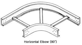 케이블트레이 수평 엘보 (Horizontal Elbow-90°)