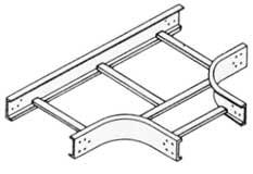 케이블 트레이 수평 티이 (Horizontal Tee)