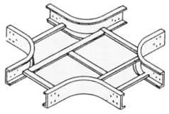 케이블 트레이 수평 크로스 (Horizontal Cross)