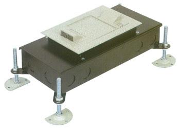 시스템 박스 콘크리트 매입형 (알루미늄 사각2구)