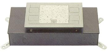 시스템 박스 콘크리트 매입형 (알루미늄 사각4구)
