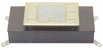 시스템 박스  콘크리트 매입형 (황동사각4구)