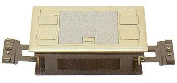 악세스 후로아 시스템박스 (황동 사각4구)